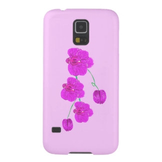 Purple Orchid Galaxy S5 Cover