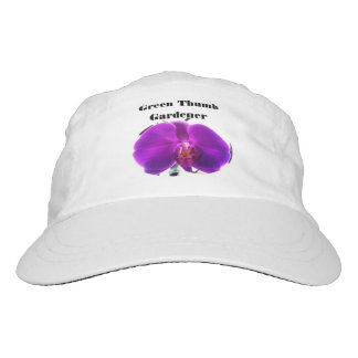 PURPLE ORCHID GREEN THUMB hat