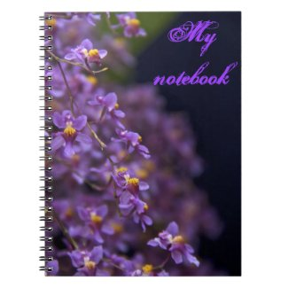 Purple Orchid Notebook