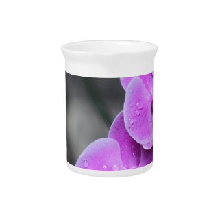 Purple Orchid Beverage Pitchers