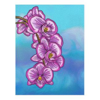 Purple Orchid Postcard