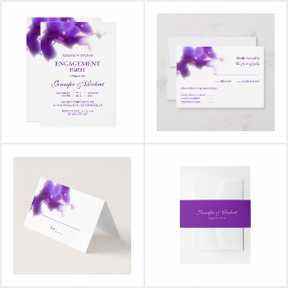 Purple Orchid Wedding Collection