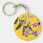 Purple Orchids - Aloha Keychains