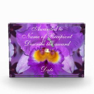 Purple Orchids Award