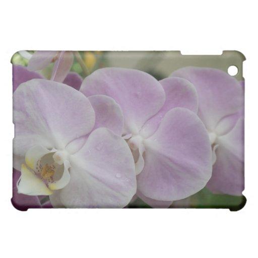Purple orchids color photo ipad computer case iPad mini covers