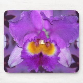 Purple Orchids Mouse Pads