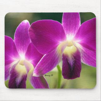 Purple Orchids Mousepads