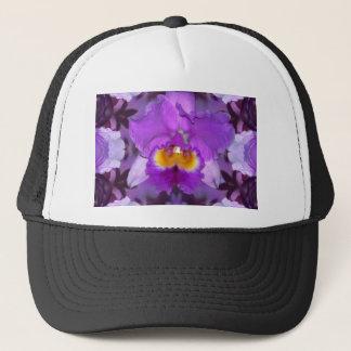 Purple Orchids Trucker Hat