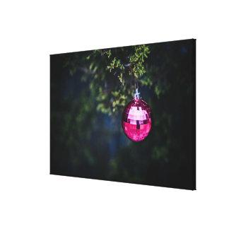 Purple Ornament Canvas Print