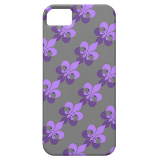 Purple ornamentation pattern Design phone more iPhone SE/5/5s Case