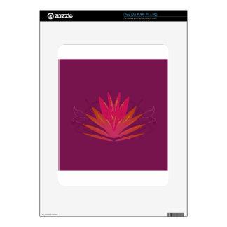 Purple ornaments luxury skin for the iPad