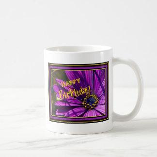 Purple Osteospermum Flower Coffee Mugs
