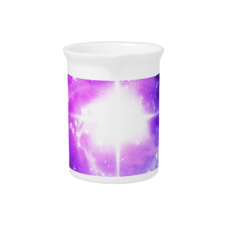 Purple Outer Space Drink Pitcher