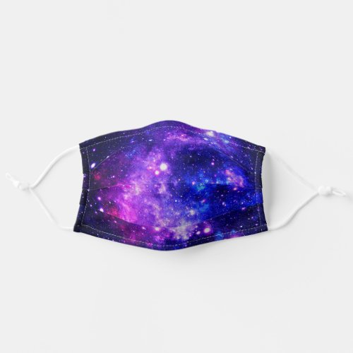 Purple Outer Space Stars Galaxy Cloth Face Mask