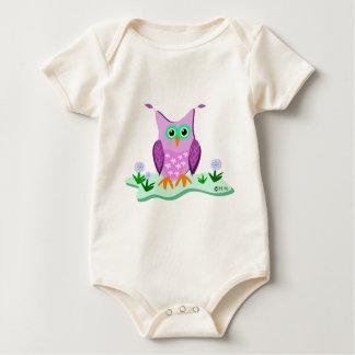 purple owl 5 14 11 zazzle bodysuit