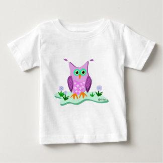 purple owl 5 14 11 zazzle infant t-shirt