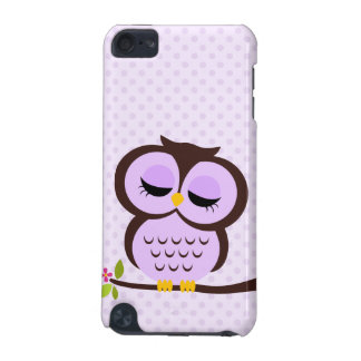 Purple Owl iPod Touch 5G Cover