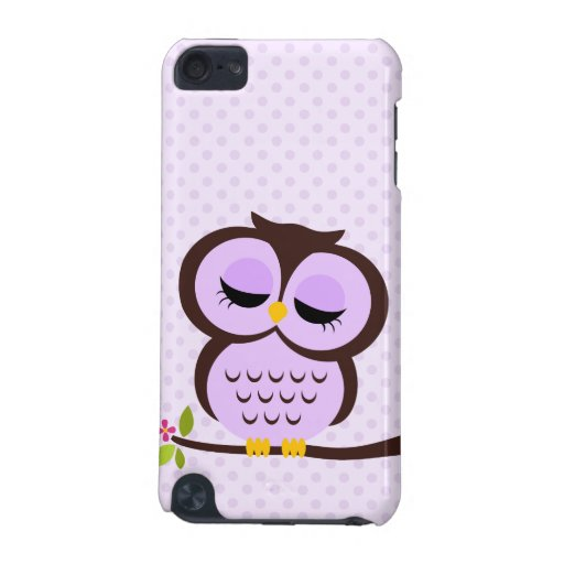 Purple Owl iPod Touch (5th Generation) Covers