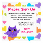 Purple Owl Custom Announcements