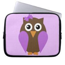 Purple Owl Electronics Bag