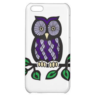 Purple Owl Iphone 5c Case