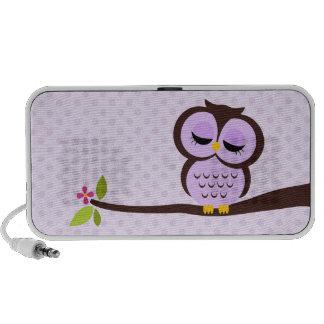 Purple Owl Travelling Speakers