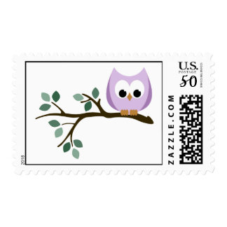 Purple Owl Stamps
