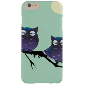 Purple Owls on a Tree Barely There iPhone 6 Plus Case
