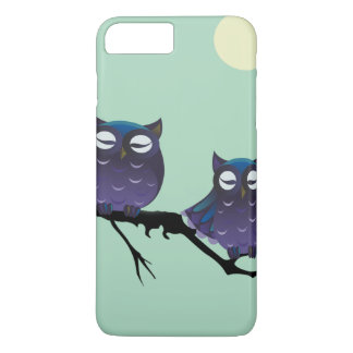 Purple Owls on a Tree iPhone 8 Plus/7 Plus Case