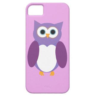 Purple Owly iPhone SE/5/5s Case