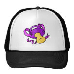 purple pacifier trucker hat