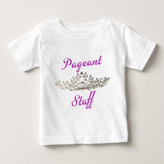 Purple Pageant Staff Baby T-Shirt