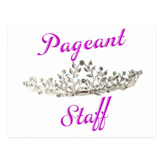 Purple Pageant Staff Postcard