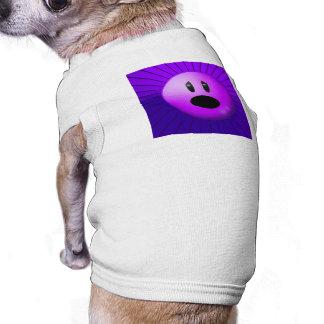 Purple Pain Awareness Graphic Art Dog T Shirt