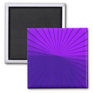 Purple Pain Awareness Graphic Art Magnet