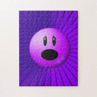 Purple Pain Awareness Graphic Art Jigsaw Puzzles
