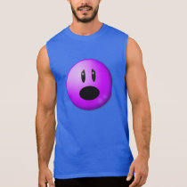 Purple Pain Awareness Graphic Art Sleeveless Shirt
