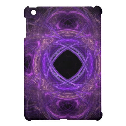 Purple Pain Fractal Case For The iPad Mini