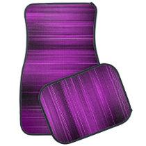 Purple Pain Levels Car Floor Mat