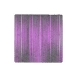 Purple Pain Levels Stone Magnet