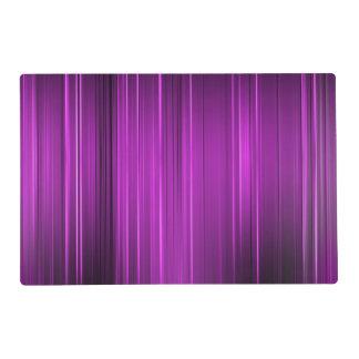 Purple Pain Levels Placemat