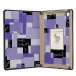 Purple Pain Modular Art iPad Mini Cover
