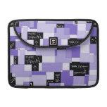 Purple Pain Modular Art MacBook Pro Sleeve