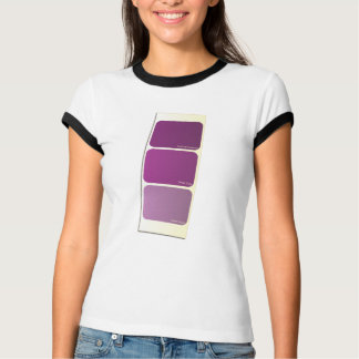 Purple Paint Sample Card T-Shirt