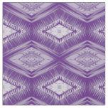 Purple painted diamonds geometric fabric