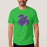 Purple Painted Turtle Shirt