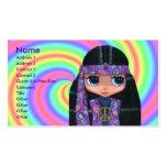 Purple Paisley Hippie Business Card