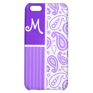 Purple Paisley Pattern Case For iPhone 5C