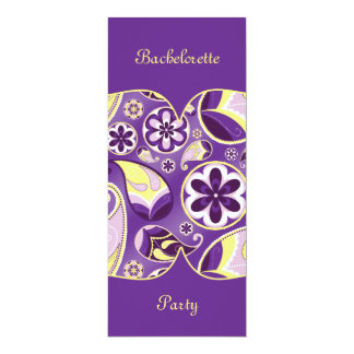 Purple Paisley Smooth Gradient Background Card