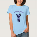 Purple Panda Racquetball T Shirt